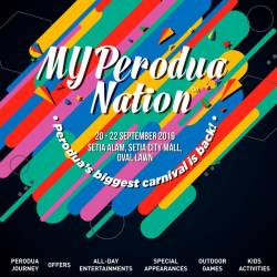MYPerodua Nation carnival featuring 'all things Perodua', soon