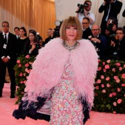 Vogue Editor-in-Chief Anna Wintour. — AFP Relaxnews