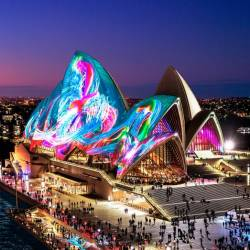 Vivid Sydney offers Austral Flora Ballet.– COURTESY OF DESTINATION NEW SOUTH WALES