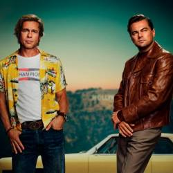 Poster of Once Upon a Time in Hollywood– courtesy of Sony Pictures