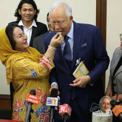 Rosmah chose the RM466,330 watch herself: Najib