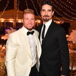Brian Littrell and Kevin Richardson