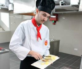 Hospitality and Tourism Management students will attend classes in a well-equipped Training Kitchen.