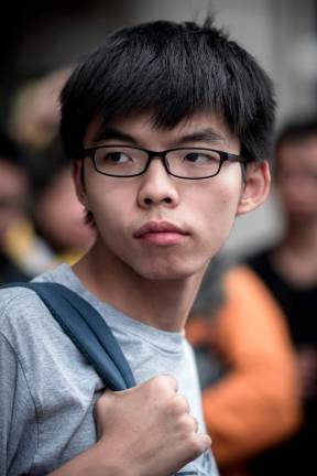Hong Kong's Joshua Wong to be released from prison Monday: Party
