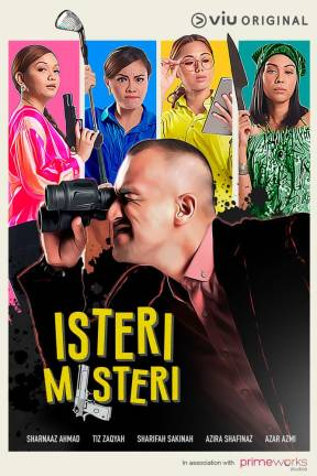 Viu's Isteri Misteri is a hilarious tale of a man trying to outsmart his wives