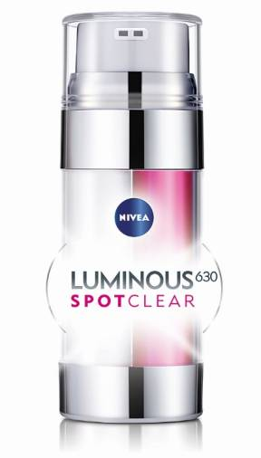 $!NIVEA LUMINOUS630 SPOTCLEAR Booster Serum has been tested and proven effective by 200 Asian women.