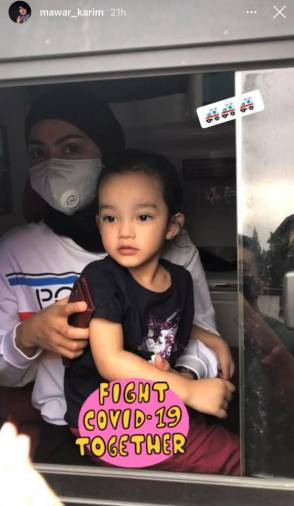 $!Businesswoman's cryptic posts leave netizens speculating about her daughter's health