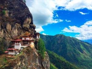 In 2018, Bhutan received 200,000 visitors from countries in the region, up nearly 10 percent from 2017. © istock.com/jordistock