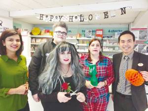 Amirul (far right) works at the Boots pharmacy in Selsey, England, and was named Best Pharmacist (Customer Service) for the region in 2018.