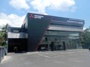 The new Mitsubishi 3S centre in Temerloh.