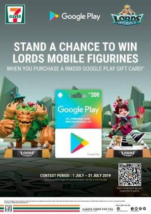 Collect your Lords Mobile figurines