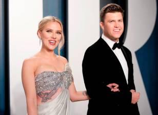 Scarlett Johansson marries Colin Jost