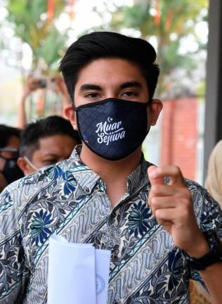 Syed Saddiq submits Muda registration to RoS