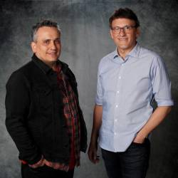 "Directors Joe (L) and Anthony Russo pose for a portrait while promoting the film ""Avengers: Endgame"" in Los Angeles, California, U.S., April 6, 2019. REUTERS/Mario Anzuoni"