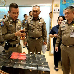 Thailand Tourist Police Commissioner, Pol Lt Gen Chettha Komolwattana said the 63-year-old man was arrested in a car park at a shopping mall in Bang Kapi District. — Bernama