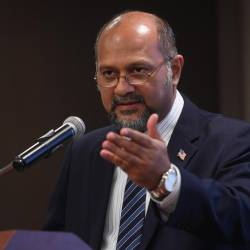 Communication and Multimedia Minister Gobind Singh Deo
