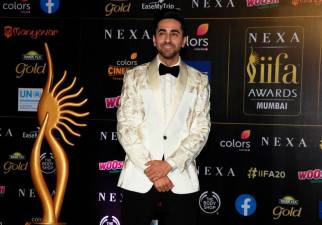 This file photo taken on September 18, 2019 shows Bollywood actor Ayushmann Khurrana arriving for the 20th International Indian Film Academy (IIFA) Awards at the NSCI Dome in Mumbai. / AFP / Sujit JAISWAL