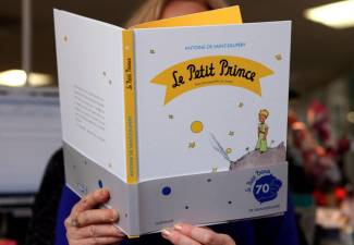 Early sketches of The Little Prince have been found in storage in northern Switzerland. © AFP PHOTO / PATRICK KOVARIK