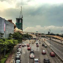 File pix of the New Pantai Expressway