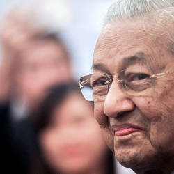 Filepix taken on July 11 shows Prime Minister Tun Dr Mahathir Mohamad at a Dewan Rakyat session at parliament. — BBXpress