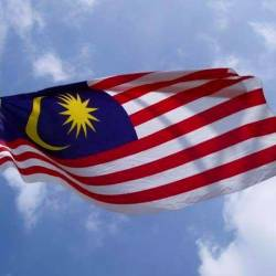 Jalur Gemilang flies proudly at Hollywood hotel as part of VM 2020 campaign