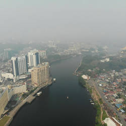 Sarawak schools close as haze worsens