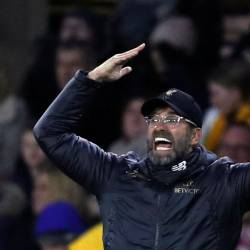 Juergen Klopp's side sit four points clear at the top as they chase Liverpool's first English title since 1990. ― Reuters