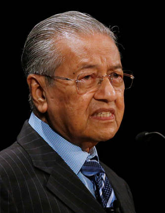 Mahathir to share views on combatting graft in Vienna