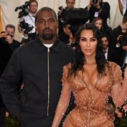 Kanye West and wife Kim Kardashian at the 2019 Met Gala at the Metropolitan Museum of Art on May 6, 2019, in New York. — AFP