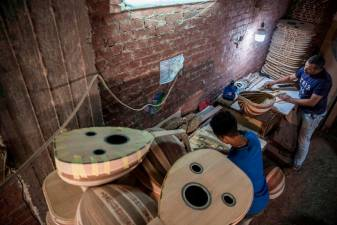 Passion for oud in Egypt