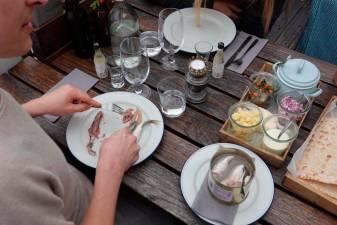 Swedish pungent fish dish