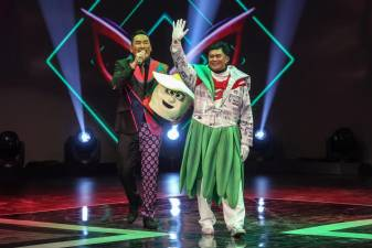Catch The Masked Singer every Friday