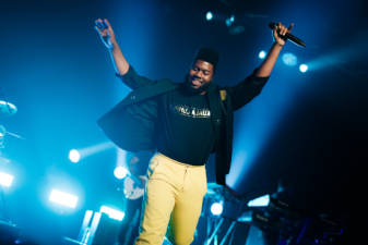 US singer Khalid performed some of his biggest hits in conjunction with Urbanscapes 2018.