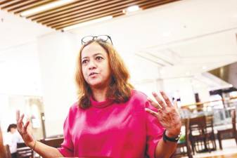 Geetha is already busy working on her second book. – Zahid Izzani/thesun