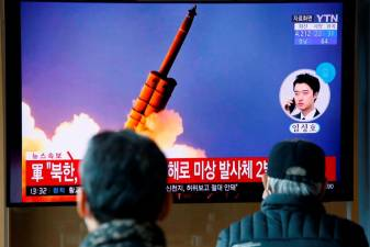 N.Korea fires two short-range missiles into eastern sea, S.Korea says 4