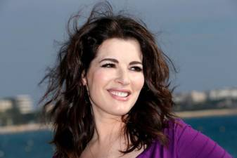 British TV chef Nigella Lawson © AFP PHOTO / VALERY HACHE