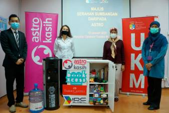 Astro Kasih brings cheer to paediatric wards nationwide