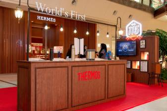 Thermos 15th anniversary pop-up store.