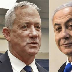 Near-complete official results from Israel's general election confirm deadlock between Prime Minister Benjamin Netanyahu and opposition leader Benny Gantz, leaving the two men to fight it out over who will head a unity government. — AFP