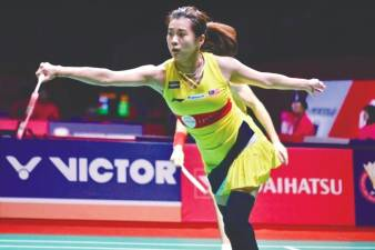 Goh says you should set a goal and not give up. – Courtesy of Goh Liu Ying