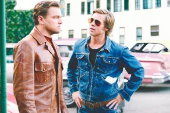 A scene from Once Upon A Time in Hollywood