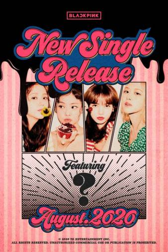 BLACKPINK releases teaser poster for new single