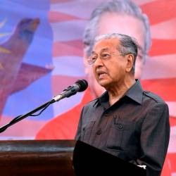 PH govt unaffected by incident at PKR congress: Mahathir
