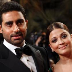 Abhishek Bachchan and wife, Aishwarya Rai