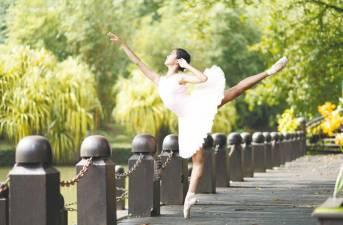 A beautiful ballerina