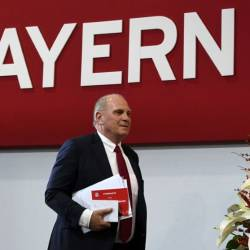 Since Hoeness first took charge in 1979, Bayern have enjoyed phenomenal success. — AFP