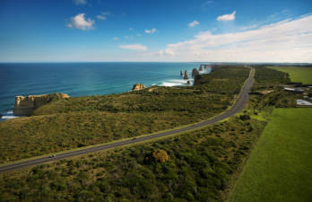 The Great Ocean Road.
