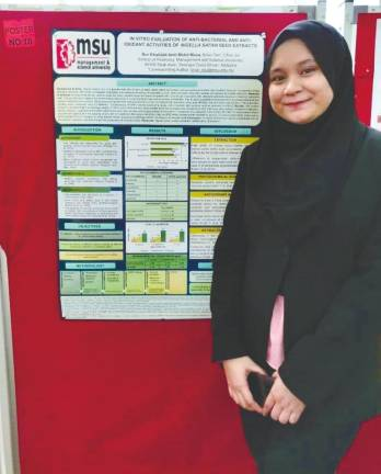MSU pharmacy alumna clinches gold