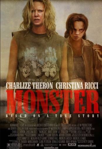 Charlize Theron and Christina Ricci in the 2003 film MONSTER.