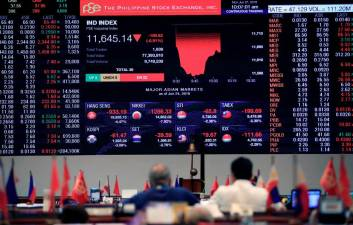 Philippines suspends stock market trade over virus fears 1